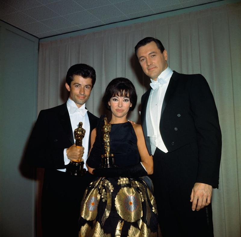 It was the year she won her Best Supporting Actress Oscar for her role as Anita in West Side Story. Source: Getty