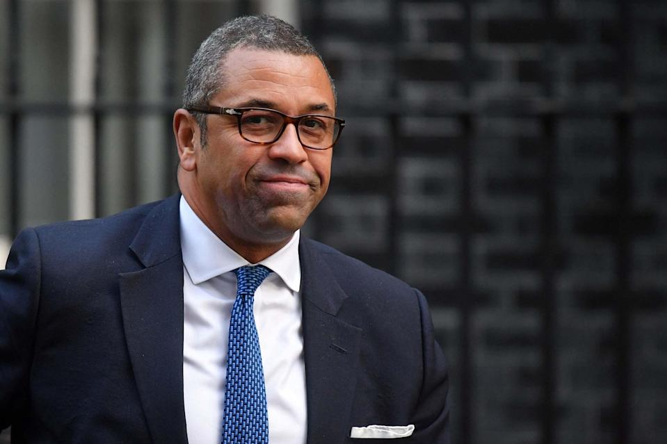 Foreign office minister James CleverlyAFP via Getty Images