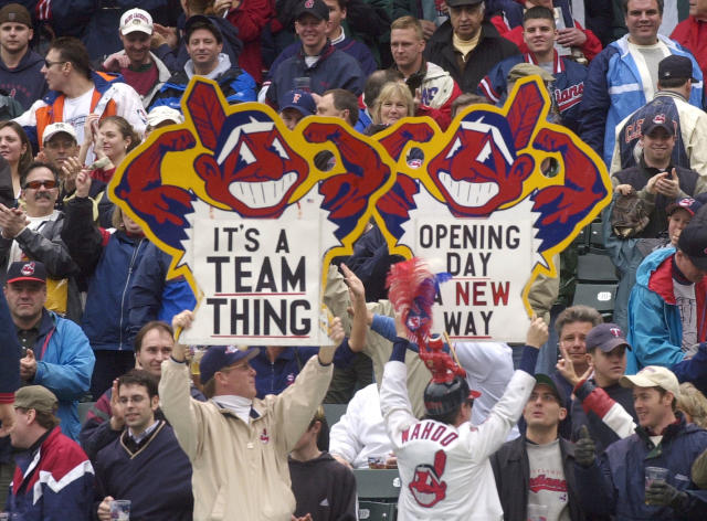 Ohio politician prods Cleveland Indians to drop Chief Wahoo logo and change club's nickname