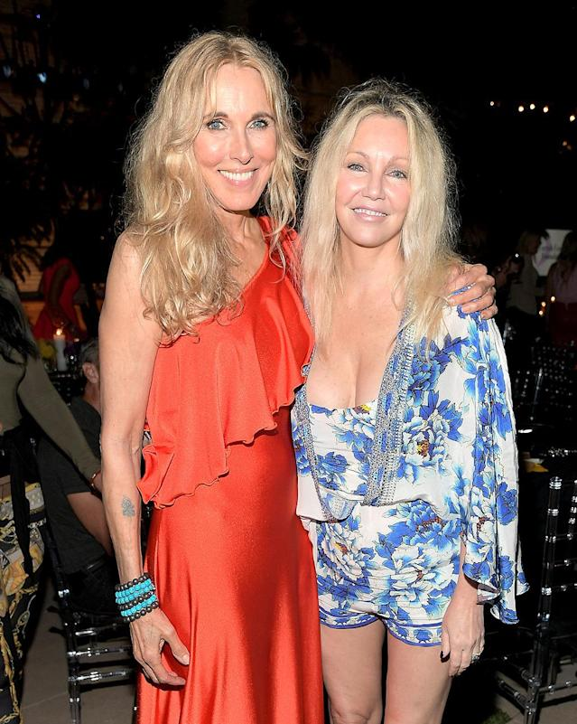 <p>In Beverly Hills, friends of the late Farrah Fawcett, including Stewart and Locklear, enjoyed the Farrah Fawcett Foundation's third Tex-Mex Fiesta in Beverly Hills. Proceeds benefitted Stand Up to Cancer. (Photo: Charley Gallay/Getty Images for the Farrah Fawcett Foundation) </p>