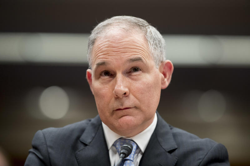Aide: Environmental Protection Agency chief Scott Pruitt sought used Trump hotel mattress
