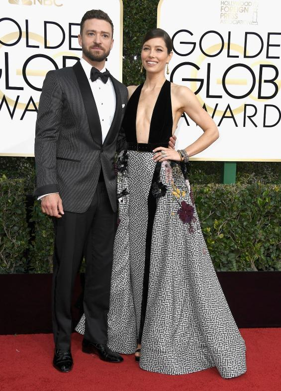 EXCLUSIVE: Justin Timberlake and Jessica Biel Are So in Love at Golden Globes: 'Nothing Bad About This Night'