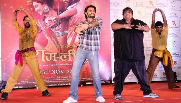 Deepika and Ranveer and their Ram Leela