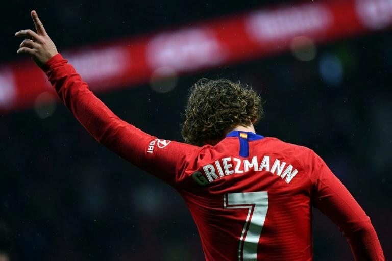 Griezmann first signed for Diego Simeone's men from Real Sociedad shortly after their surprise 2014 league title triumph (AFP/GABRIEL BOUYS)