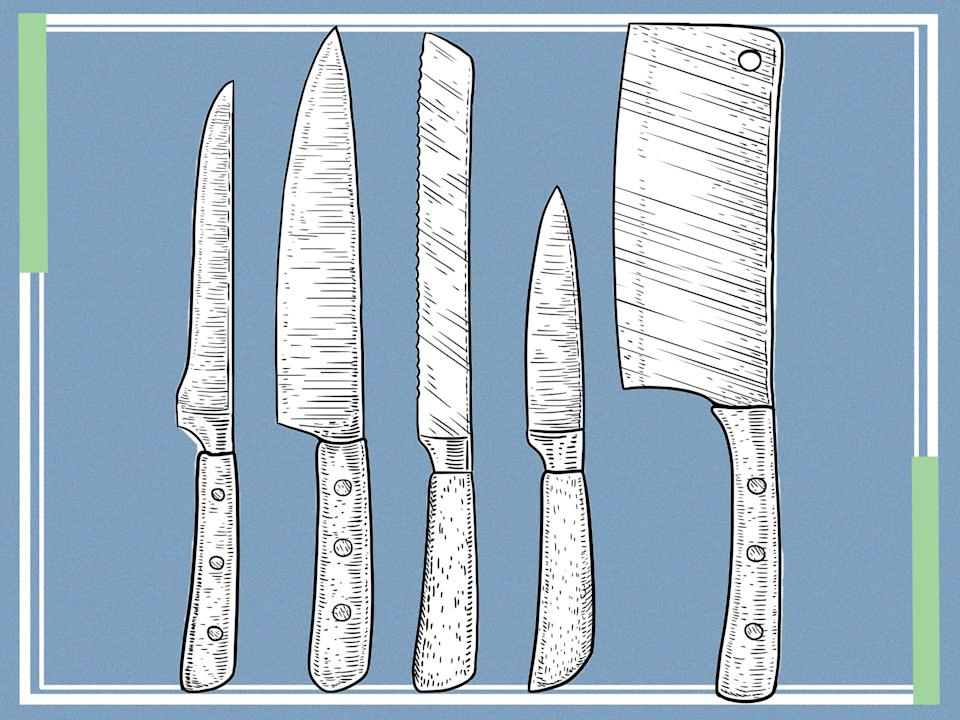 <p>Knives should be sharpened once or twice a month</p> (iStock/The Independent)