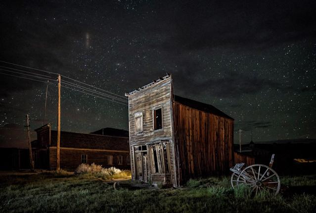 "<p>By 1910, though, other strikes had drawn inhabitants away from Brodie, leaving it with the ""ghost town"" tag by 1915. (Photo: Matthew Christopher — Abandoned America/Caters News) </p>"
