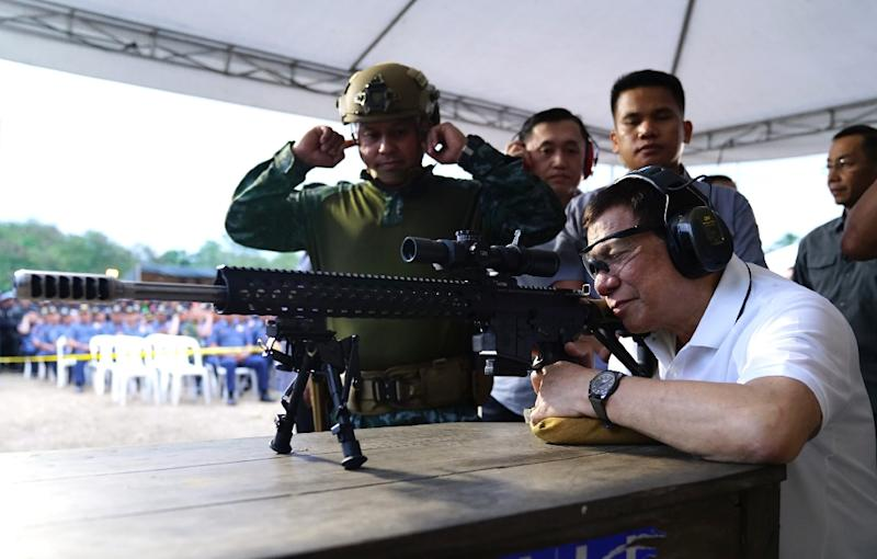 Duterte is infuriated the ICC has opened a preliminary investigation into his deadly drug war