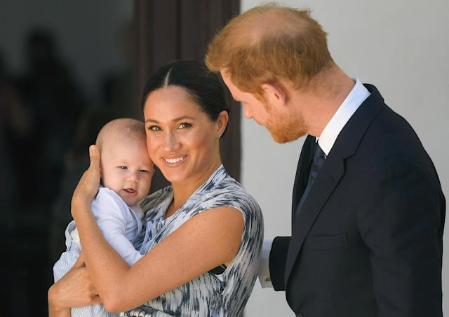 Harry and Meghan have mostly been raising Archie in Canada. (Getty Images)