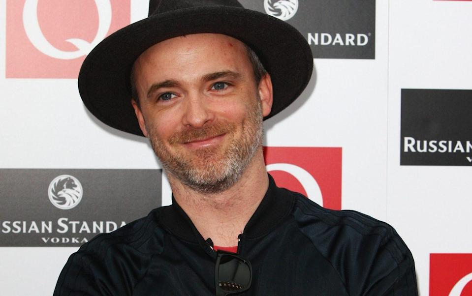 Fran Healy, who was left with injuries after he was 'mauled' by a Daschund - Gareth Cattermole/Getty