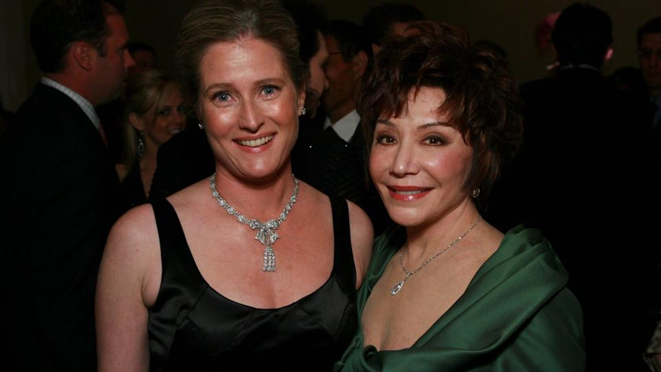Mandatory Credit: Photo by Alex Berliner/BEI/Shutterstock (658606bk)Lynda Resnick and Linda Daly United Friends of the Children Brass Ring Awards Dinner, Beverly Hilton, Los Angeles, America - 19 Apr 2007April 19, 2007 - Beverly HIlls, CaliforniaLynda Resnick and Linda Daly .