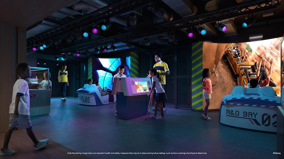 <p>Walt Disney Imagineering Lab is a first-of-its-kind opportunity for kids ages 3 to 12 to discover the secrets of world-renowned Disney Imagineers — the creative masterminds behind Disney theme parks, resorts and cruise ships — with hands-on activities and inventive experiments. (Disney)</p>