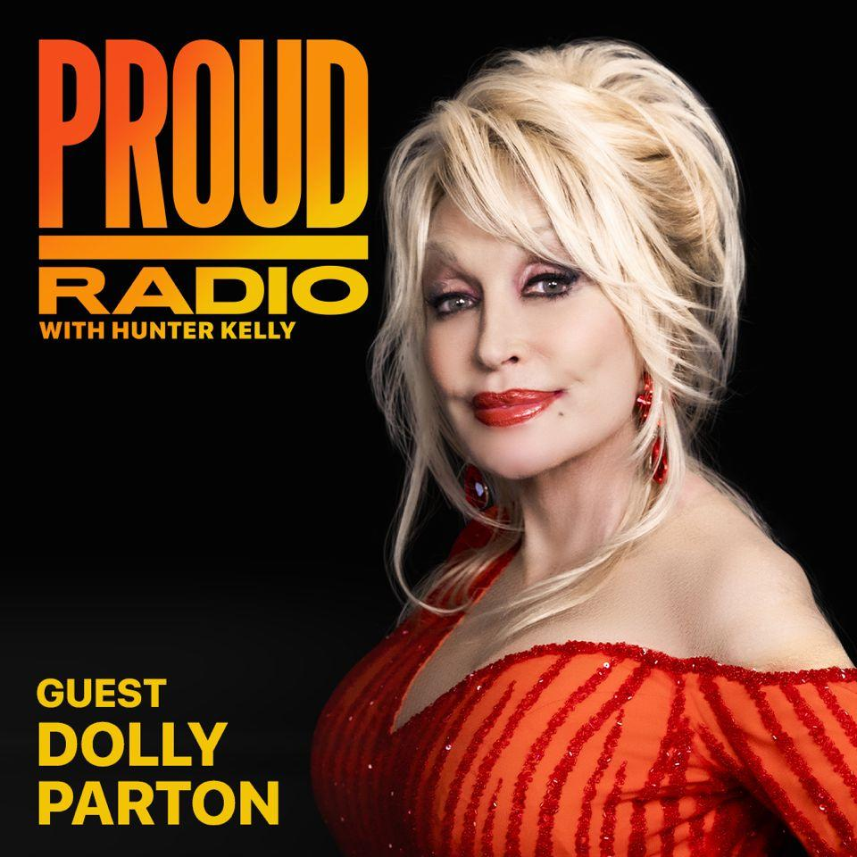"Dolly Parton's interview on ""Proud Radio"" airs Sunday, Dec. 6. (Photo: Apple Music)"