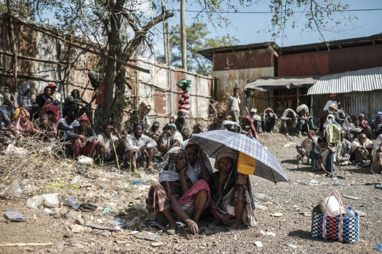 Pressure is mounting on the government to address the aid shortages (AFP/EDUARDO SOTERAS)