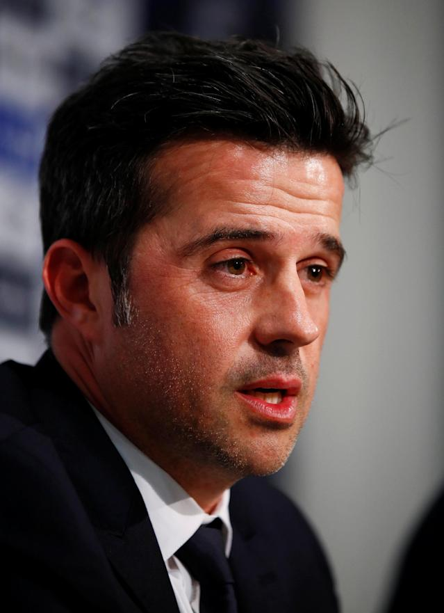 Soccer Football - England - Premier League - Everton - Marco Silva Press Conference - Finch Farm, Liverpool, Britain - June 4, 2018 Everton manager Marco Silva during the press conference REUTERS/Jason Cairnduff