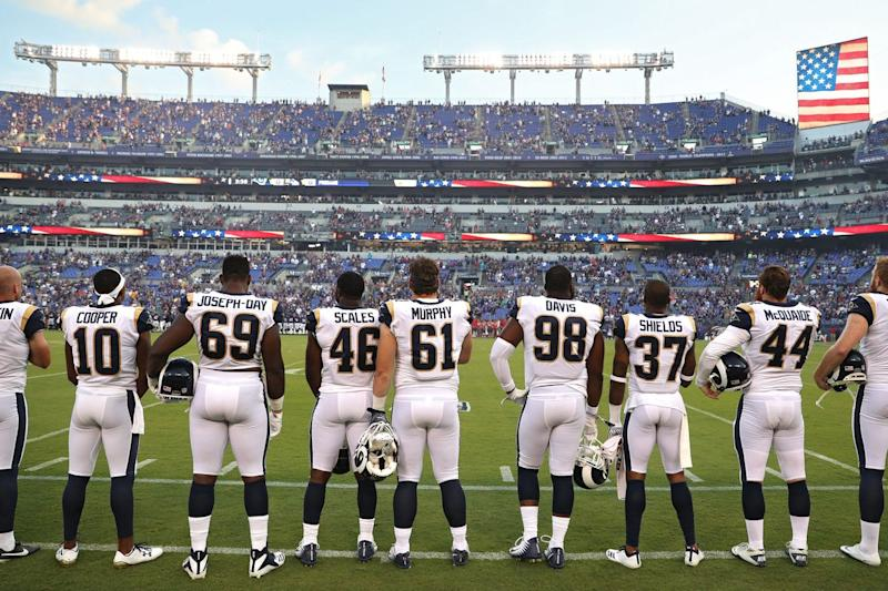 NFL Won't Implement New Anthem Policy This Season: ESPN
