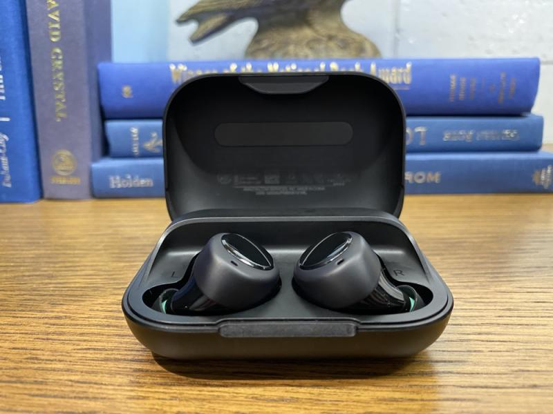 The Echo Buds put Alexa in your ear, but the fit can be finicky. (Image: Howley)