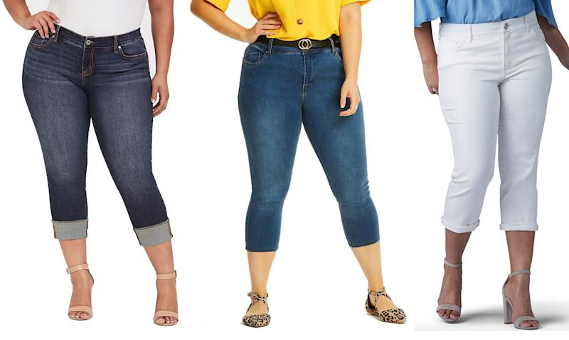 Stylish plus-size capris to wear this summer (Photo: Torrid, Simply Be, Kohl's)