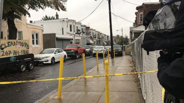 PHOTO: A 2-year-old child was killed in a shooting in North Philadelphia on Sunday, Oct. 20, 2019. (WPVI)