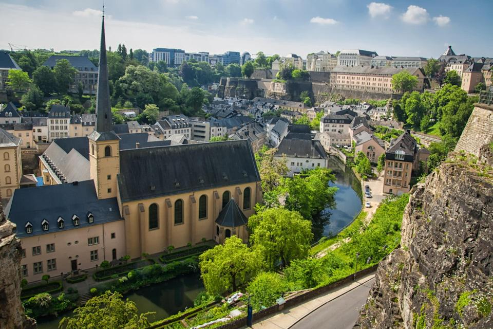 Luxembourg City - getty
