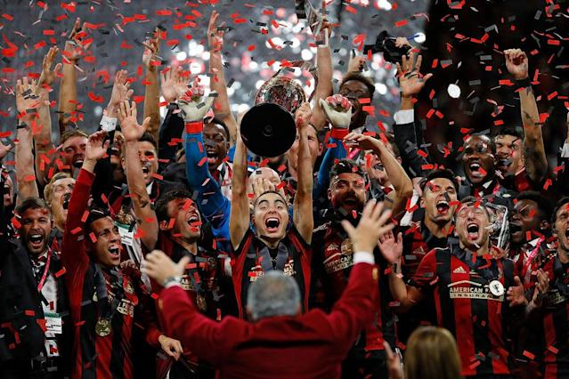 The Atlanta United Football Club are Major League Soccer champions. (Getty)