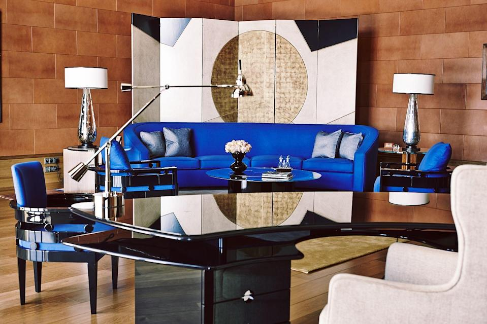 """<p>When it comes to designing the perfect room for entertaining, is there anyone greater than the late <a href=""""https://www.pintoparis.com/"""" rel=""""nofollow noopener"""" target=""""_blank"""" data-ylk=""""slk:Alberto Pinto"""" class=""""link rapid-noclick-resp"""">Alberto Pinto</a>? The output of his Paris-based design studio, Pinto Paris, ranges from <a href=""""https://www.elledecor.com/design-decorate/house-interiors/a30197453/linda-pinto-paris-home/"""" rel=""""nofollow noopener"""" target=""""_blank"""" data-ylk=""""slk:lavish interiors"""" class=""""link rapid-noclick-resp"""">lavish interiors</a> to hand-painted tableware for an elite clientele that includes Qatari princes and European aristocrats. Such demand and exclusivity make items from the <em>ELLE Decor</em> <a href=""""https://www.elledecor.com/design-decorate/interior-designers/g3076/a-list-interior-designers/"""" rel=""""nofollow noopener"""" target=""""_blank"""" data-ylk=""""slk:A-Lister"""" class=""""link rapid-noclick-resp"""">A-Lister</a> especially covetable—and elusive to obtain. Save for a few specialty sites, getting your hands on a signature Limoges place setting or a one-of-a-kind dining table has always proven near impossible to the average consumer. Enter luxury online design platform the <a href=""""https://www.elledecor.com/life-culture/a32055804/invisible-collection-home-office-furniture/"""" rel=""""nofollow noopener"""" target=""""_blank"""" data-ylk=""""slk:Invisible Collection"""" class=""""link rapid-noclick-resp"""">Invisible Collection</a>, which, starting March 21, is <a href=""""https://theinvisiblecollection.com/designer/pinto-paris/"""" rel=""""nofollow noopener"""" target=""""_blank"""" data-ylk=""""slk:offering"""" class=""""link rapid-noclick-resp"""">offering</a> a selection of the design house's storied furnishings and objets to the public. The selection, which ranges from whimsical porcelain to heirloom-worthy furnishings, is impeccably curated to capture Pinto's signature French style. So if you've been yearning for a piece of French craftsmanship like we have, read on for our favorite picks from the <a hr"""
