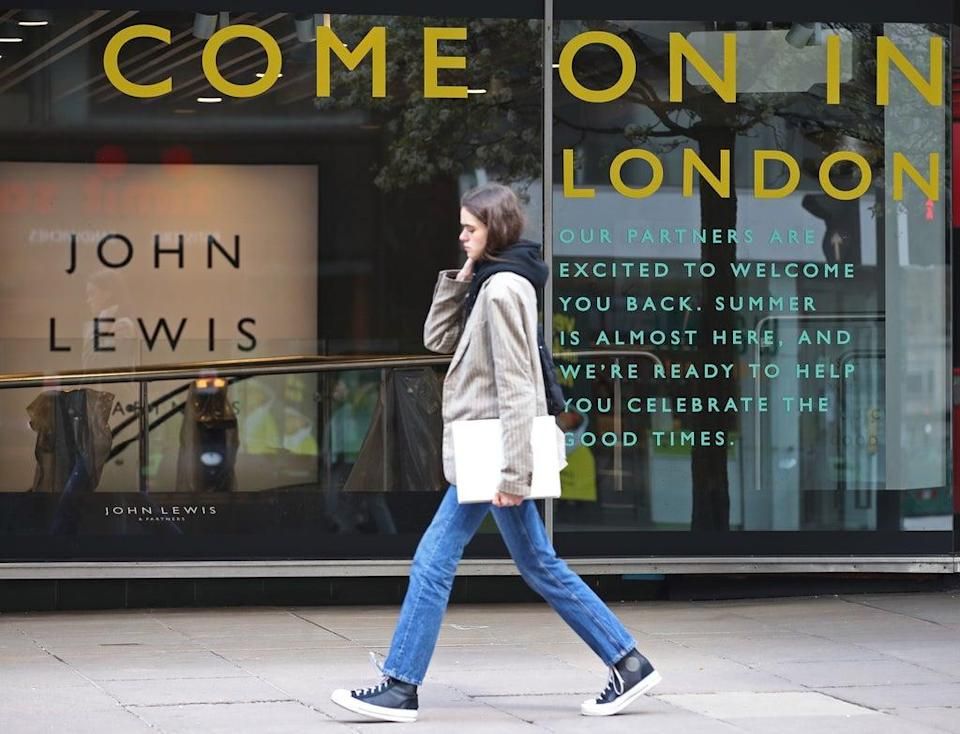 John Lewis reveals the trends of the past year (Yui Mok/PA) (PA Archive)