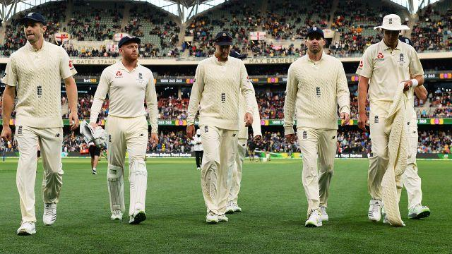 Not a good look for England. Image: Getty