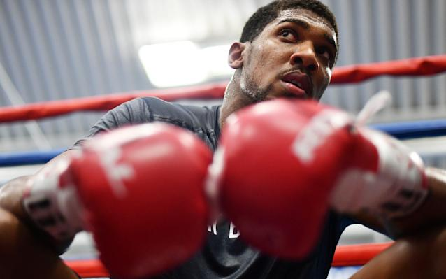 Anthony Joshua is confident he can beat former world heavyweight champion Wladimir Klitschko - Getty Images Europe