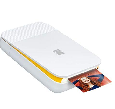 "Get this <a href=""https://amzn.to/3j3eRGk"" target=""_blank"" rel=""noopener noreferrer"">KODAK Smile Instant Digital Bluetooth Printer on sale for $70</a> (normally $100) at Amazon."