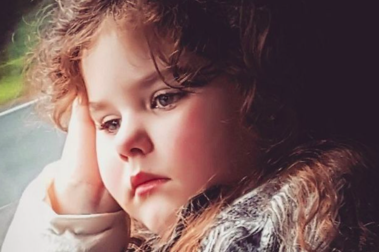 Emily started her periods at the age of four [Photo: GoFundMe]