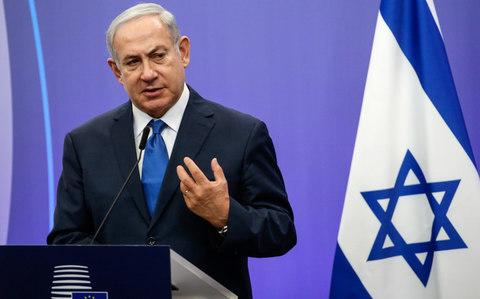 Israeli Prime Minister Benjamin Netanyahu said the country had no tolerance for Holocaust denial