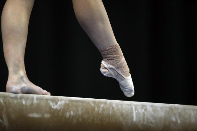 USA Gymnastics has named Li Li Leung as its new CEO, and she'll be charged with repairing the trust between the organization and its gymnasts. (AP Photo/Jeff Roberson)
