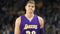<p>The aforementioned 2016 offseason — which featured a substantial increase in the salary cap — produced a lot of bad contracts. Noah was one, but Timofey Mozgov was arguably even worse. The towering Russian center stood 7 feet, 1 inch, so if you're going to throw nearly $65 million at a guy, maybe he wasn't the worst option. But Mozgov had hardly lit the NBA on fire during his six prior seasons, and he wound up playing even worse throughout his tenure with the Los Angeles Lakers.</p> <p>Mozgov would appear in less than a third of the games he signed for, and the Lakers ended up paying him nearly $140,000 per point scored.</p> <p><small>Image Credits: Thearon W. Henderson / Getty Images</small></p>