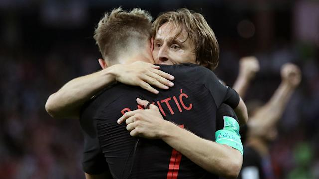 Former Croatia international Filip Tapalovic feels a counter-attacking approach could work against England in the World Cup semi-finals.