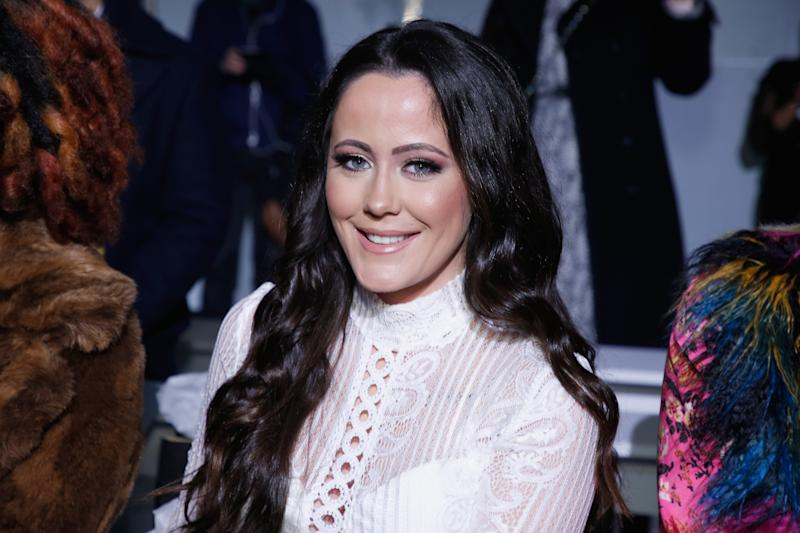 Jenelle Evans attends New York Fashion Week on February 7, 2019 in New York City.