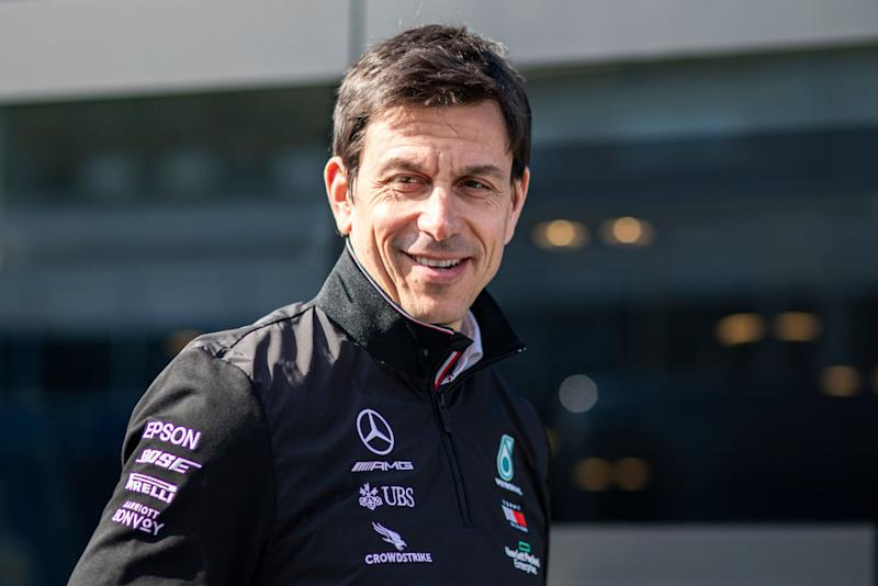 WOLFF Toto (aut), Team Principal & CEO Mercedes AMG Petronas F1 W11, portrait during the Formula 1 Winter Tests at Circuit de Barcelona - Catalunya on February 19, 2020 in Barcelona, Spain. (Photo by Xavier Bonilla/NurPhoto)