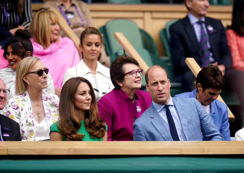 Kate, William and other celebs (PA Wire)