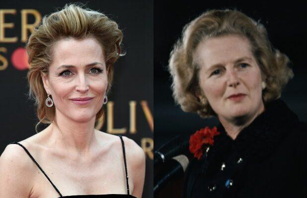 'The Crown' Adds 'X-Files' Star Gillian Anderson as Margaret Thatcher