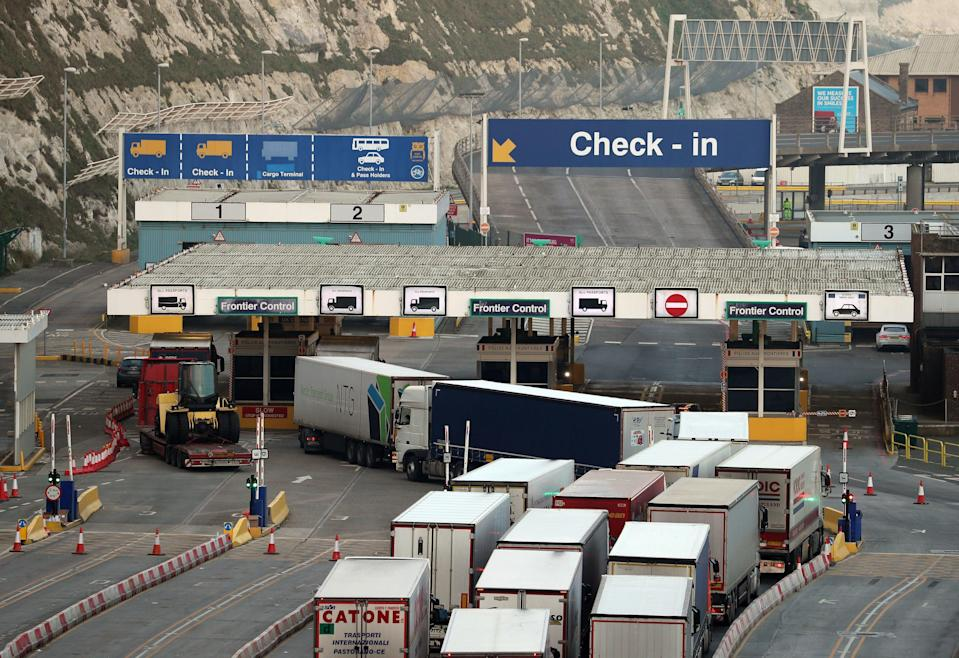 <p>Among businesses reporting challenges at the end of February, Brexit was the most commonly cited cause</p> (PA)