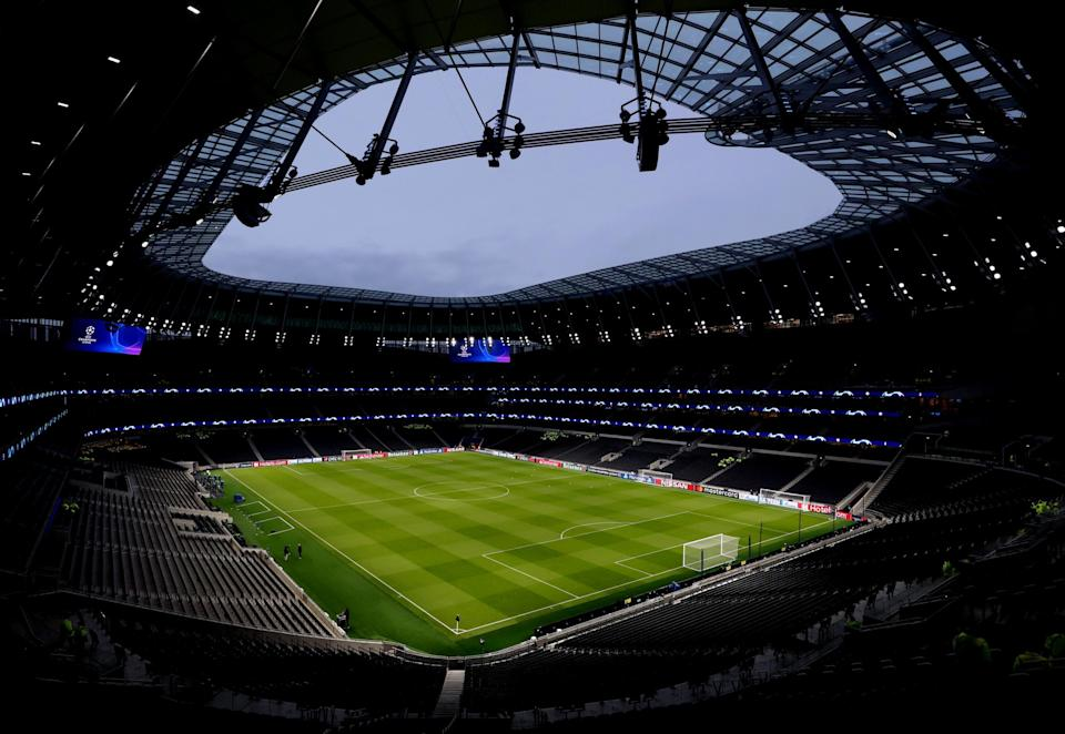 <p>Tottenham will welcome back 2,000 fans for the north London derby against Arsenal</p> (Getty Images)