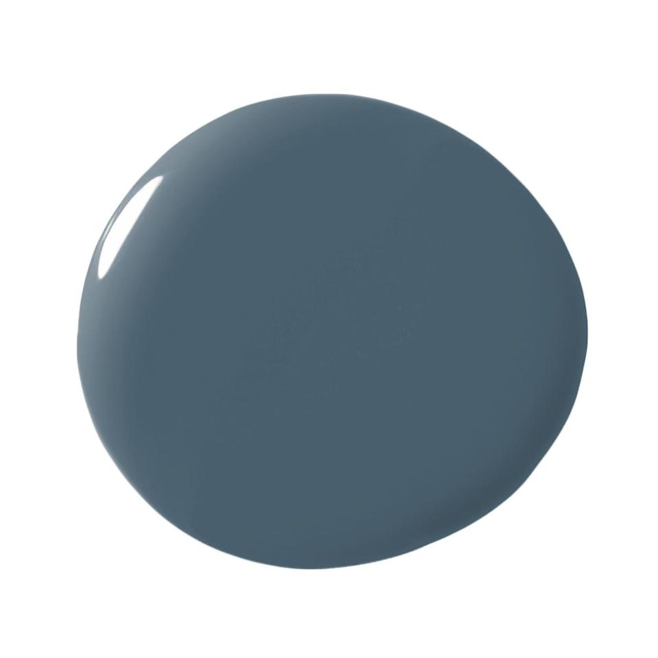 "<p>""My favorite blue paint is Farrow & Ball's 'Stiffkey Blue,' which is a really gorgeous, moody, inky navy; perfect for sexy and tailored bedrooms and high gloss offices and libraries."" -<strong><a rel=""nofollow"" href=""https://www.homepolish.com/designers/arielokin"">Ariel Okin</a></strong></p>"