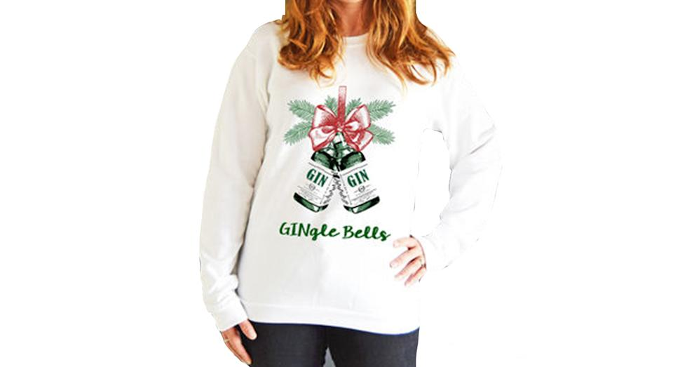 'Gingle Bells' Unisex Christmas Jumper (Not On The High Street)