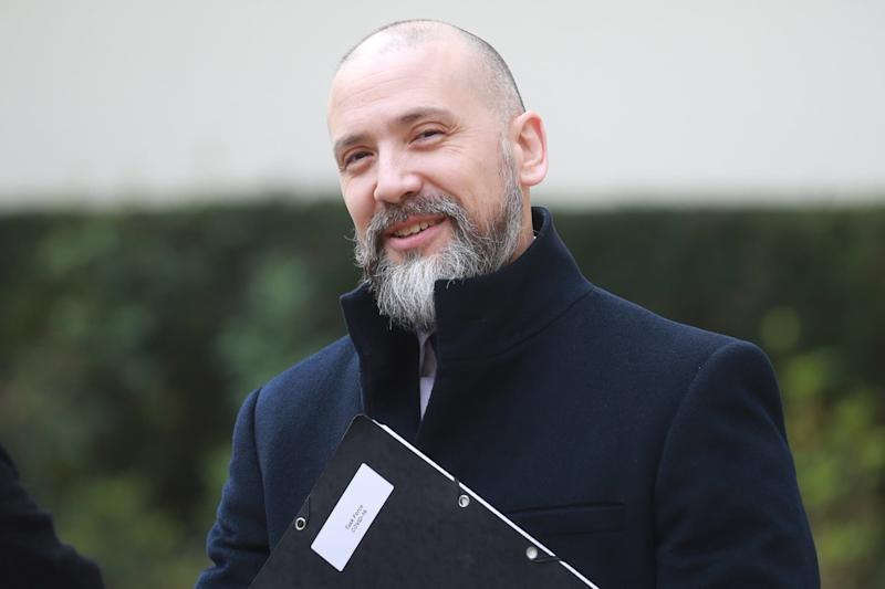 Christian Gravel, le 17 mars 2020 à Paris. - LUDOVIC MARIN / AFP