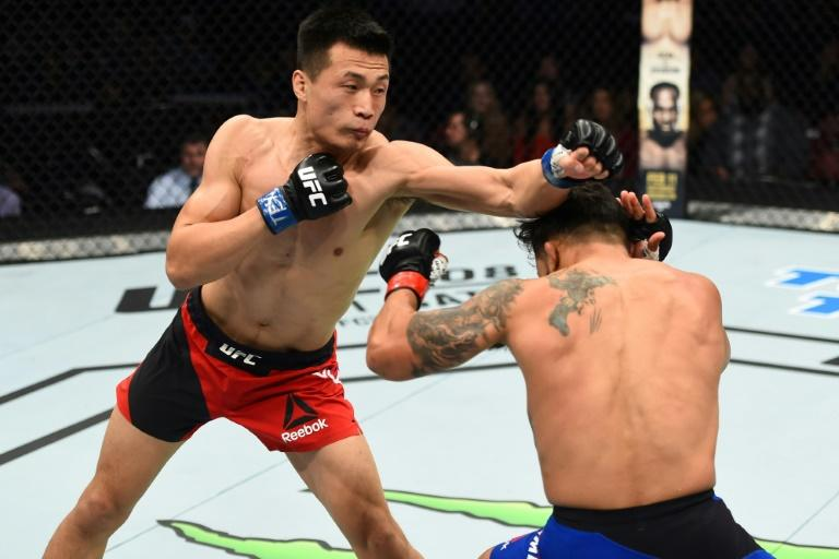 Chan Sung-jung says MMA can have a positive impact