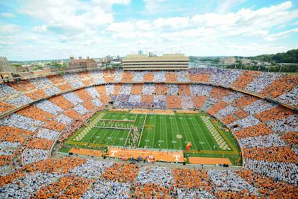 A general view of Neyland Stadium prior to the game against the Florida Gators and Tennessee Volunteers. (Randy Sartin-USA TODAY Sports)