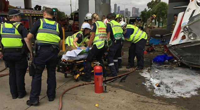 The driver was severely injured but managed to be saved. Source: Facebook / MFB / Commander Rick Gili