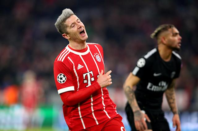 <p>Bayern's sharpshooter is in the top 10. </p>