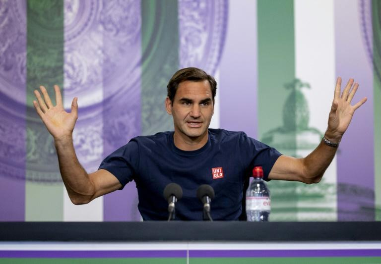 He's back: Roger Federer starts his bid for a ninth Wimbledon title on Tuesday