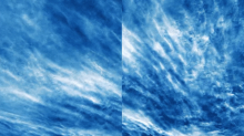 NASA Captured Striking Photos of Electric Blue Clouds Above Earth's Poles