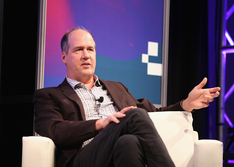 AUSTIN, TX - MARCH 14: Krist Novoselic of Nirvana speaks onstage at 'A Conversation With Krist Novoselic' during 2017 SXSW Conference and Festivals at Austin Convention Center on March 14, 2017 in Austin, Texas. (Photo by Andy Pareti/Getty Images for SXSW)